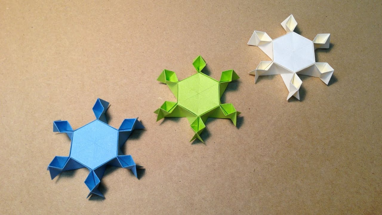 すべての折り紙 結晶 作り方 折り紙 : ... 結晶の折り方 作り方 立体