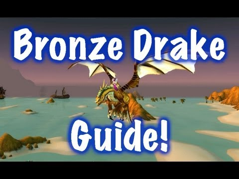 How to Easily get a Dragon Mount  - Bronze Drake Guide (World of Warcraft)