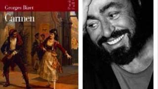 Luciano Pavarotti La Fleur Que Tu M Avais Jetée Camen Bizet