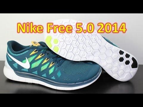 Nike Free 5.0 2014 Nightshade - Unboxing + On Feet