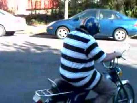 fat guy on bike pic. FAT GUY ON A LITTLE BIKE