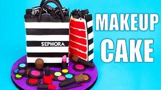 How to Make a Sephora Makeup Cake Tutorial