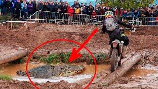 Dangerous & Funny enduro race!! PARODY | Funny moments | Enduroc 9th edition