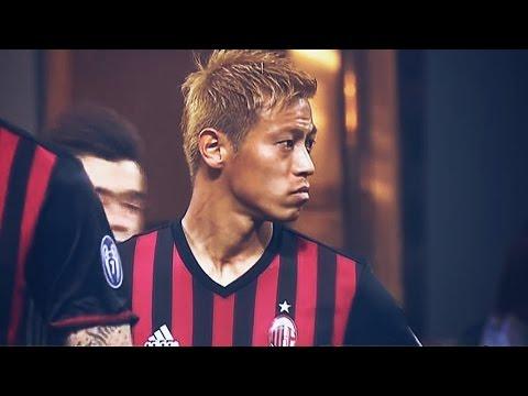 本田圭佑タッチ集 【ミランvsローマ】 AC Milan Keisuke Honda 14.5.2016