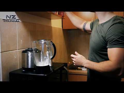 Ukusan Obrok Za 2 Minuta - Proteinski Sejk Za Masu  (4k Video)