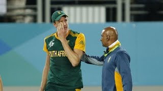 2015 WC: SA Cricketers Cry after losing Semi-final – Emotional Moment