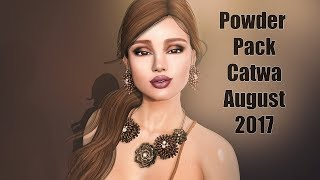 Powder Pack Catwa August 2017 - Unboxing Video - Second Life Subscription Box