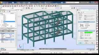 Autodesk Robot Structural Analysis-Reinforced Concrete Building with Steel Truss 01