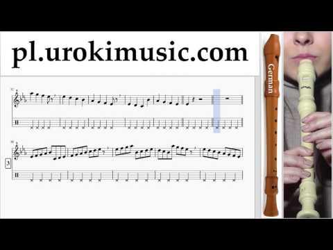 Nauka Gry Na Flecie Prostym (Niemiecki) Justin Bieber - Sorry Nuty Poradnik Część 1 Um-i463