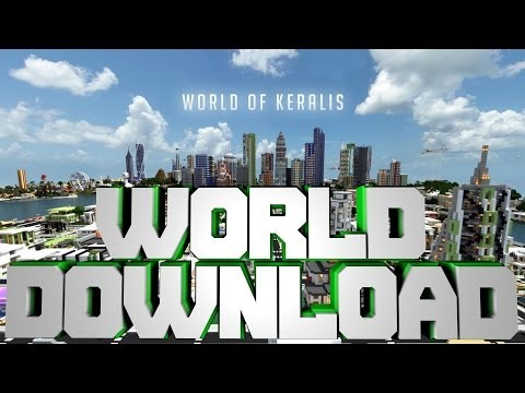 Minecraft PE Keralis World [DOWNLOAD] [Hunger Games]