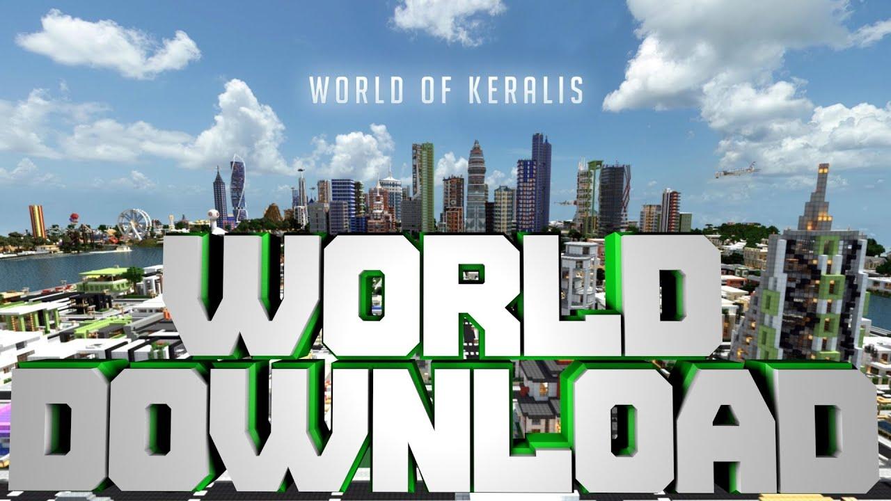 Minecraft pe Keralis World