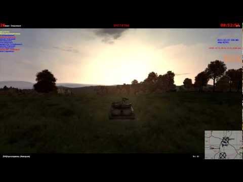 Один забавный танковый бой