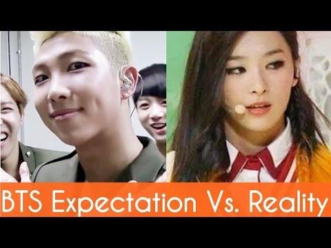 BTS : Expectation Vs. Reality #2