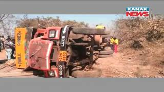 6 Die, 4 Injure In Truck Accident In Bhawanipatna