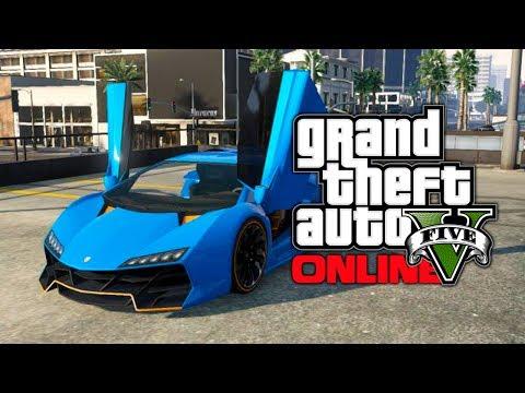 "GTA 5 Online: ""Pegassi Zentorno"" Buying & Car Customization Guide! (GTA V)"