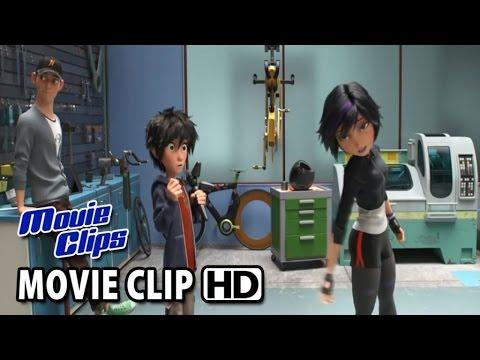Big Hero 6 Movie CLIP - GoGo (2014) - Disney Animation Movie HD