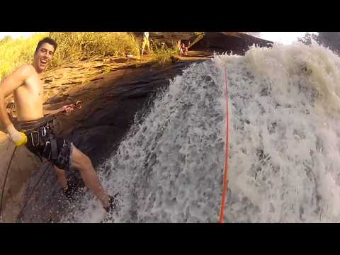Cascading - Rapel Cachoeira - Brasil GOPRO [HD]
