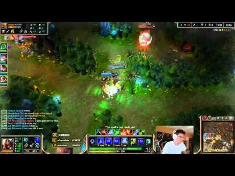 xPeke vs Soaz - Zed vs Lee Sin - mid «Beast» (Challenger)