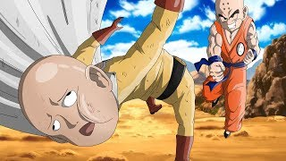 Why Krillin Would SLAP Saitama In A Fight (One Punch Man VS Dragon Ball Super)