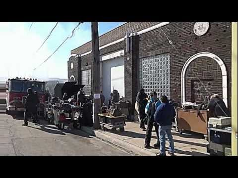 """Live Exciting Movie Set In Bridgeport For The """"Chicago Fire TV Show"""" COOL"""