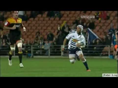 Super Rugby Video Highlights 2011 -Gio Aplon's try against the Chiefs Rd.13 - Gio Aplon's try agains