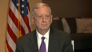 Mattis disagrees with Trump