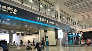 How To Get From Hong Kong Airport Into Hong Kong City By Airport Express Train