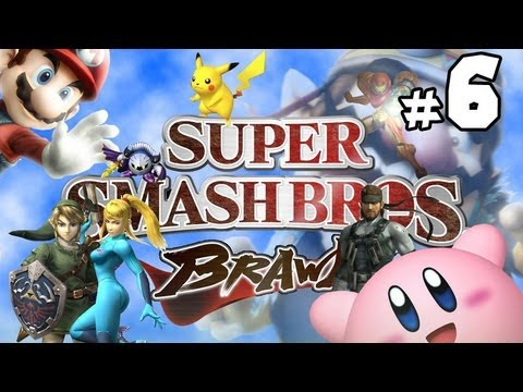 Super Smash Bros Brawl w/ Ethan - PART 6 - Don't Mess with a Jedi!