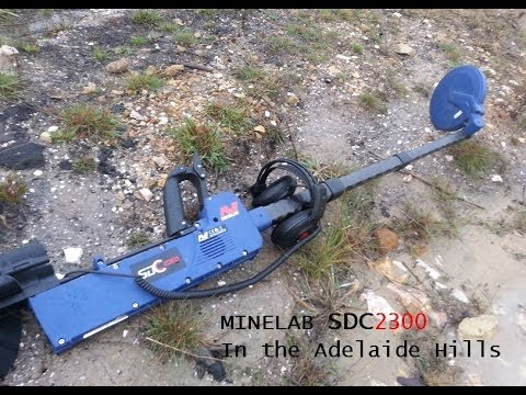 Minelab SDC 2300 in the Adelaide Hills pt1