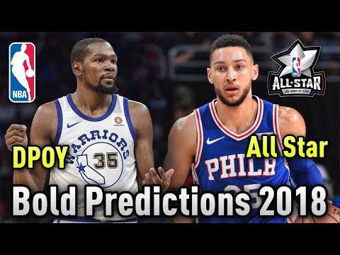 5 BOLD NBA Predictions For 2018!