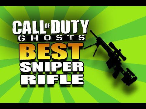 Call of Duty Ghosts: BEST Sniper Rifle in COD Ghosts!
