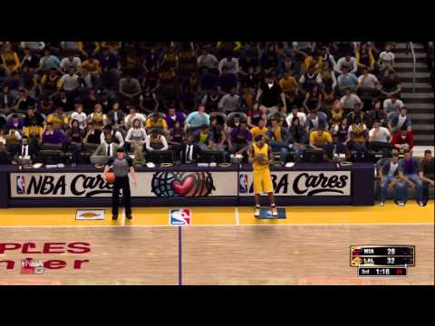 NBA 2K13: Los Angeles Lakers VS Miami Heat