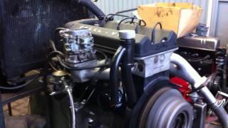 Facellia engine testrun