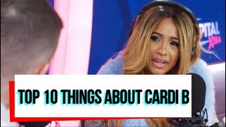 Top 10 Things You Need To Know About Cardi B | Belcalis Almanzar
