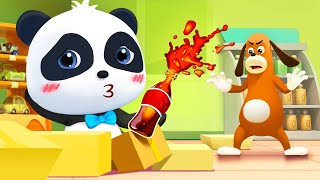 Baby Panda Wanna Cola | Magical Chinese Characters | Kids Cartoon | Baby Cartoon | BabyBus