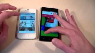 Fly Nimbus 2 vs iPhone 4S (HD)
