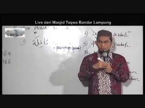 Ragam Sholat Sunnah - Adi Hidayat, Lc., MA (Masjid At Taqwa Bandar Lampung - 120417)