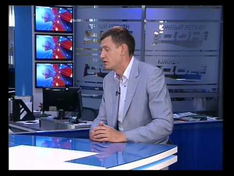 Владимир Бабин в эфире программы «Новости» телеканала Южный регион - Дон