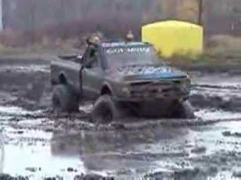mud bog 4x4 11-5-05 RED BARN CUSTOMS Video