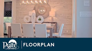 New Homes by Pulte Homes – Abbeyville Floor Plan