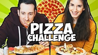 PIZZA CHALLENGE FINITA MALE! #challengeinlove