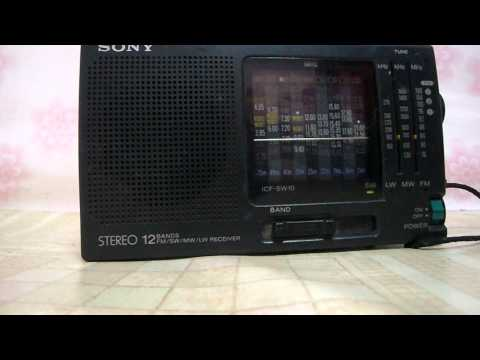 SONY SW-10 RADIO 40m Ham Band SWL