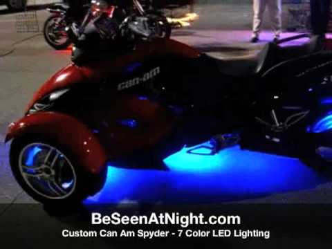 BeSeenAtNight - CanAm Spyder