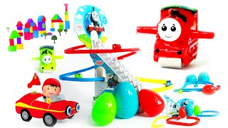 Surprise egg thomas train for kids | learn colors choo choo train | thomas engine toys for children