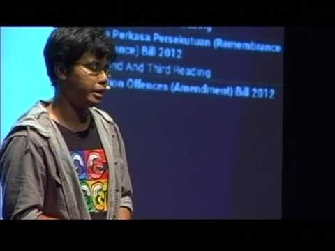 Making Malaysia Government Transparent & Accountable with Open Data : Khairil Yusof at TEDxKL 2012