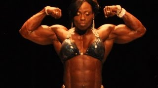 2013 NPC Nationals Women's Bodybuilding Overall Winner Female Bodybuilder Victoria Dominguez