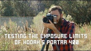 Testing The Exposure Limits Of Kodak's Portra 400 Film