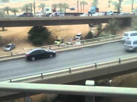 Exit Map of Riyadh Accident in Riyadh City Exit