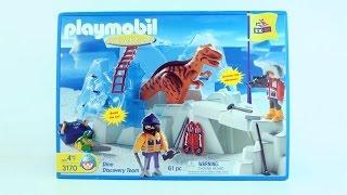 Playmobil Tyrannosaurus Rex in Ice - Expedition Dino Discovery - RARE Expedition Arctic Dinosaur set