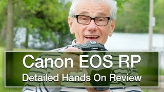 Canon EOS RP review - Detailed, hands-on, not sponsored.